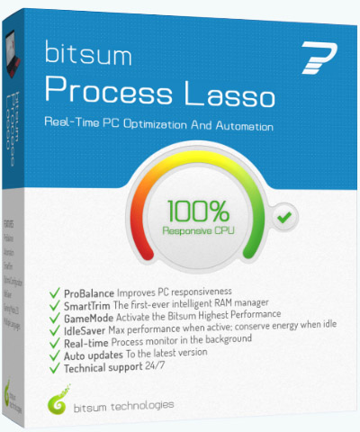 Process Lasso Pro 9.0.0.546 (2018) PC | Portable