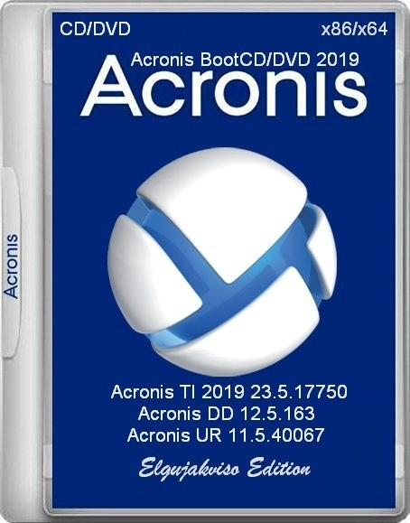 Acronis BootCD / BootDVD 2019 v.30.03.19 (2019) PC | RePack