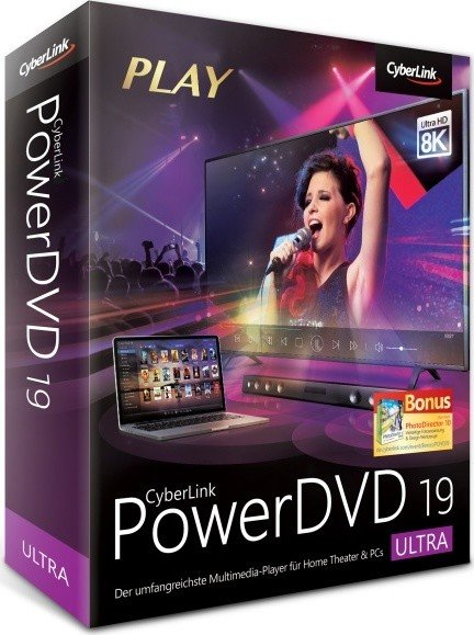CyberLink PowerDVD Ultra 19.0.1724.62 (2019) РС | RePack